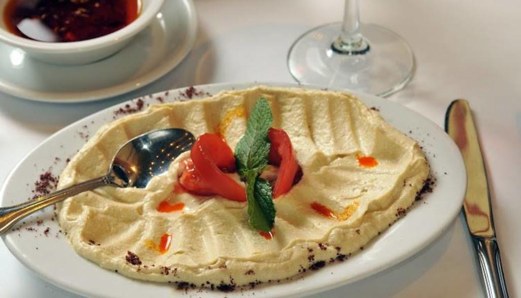 Cafe Istanbul Hummus Plate