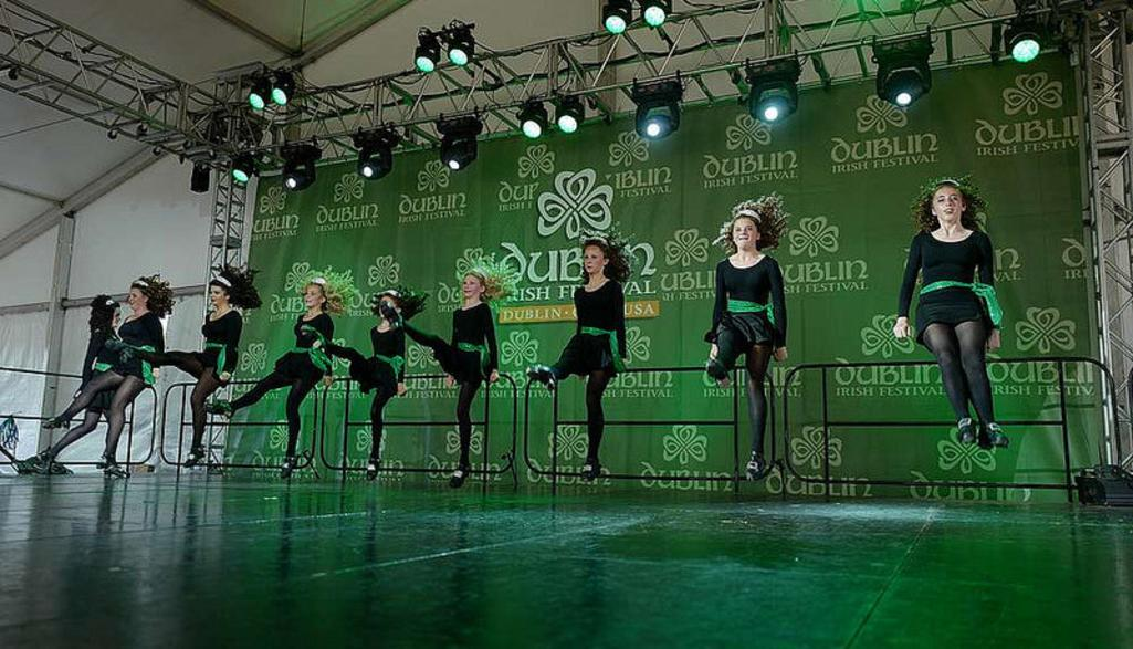 Irish Dancers at the Dublin Irish Festival