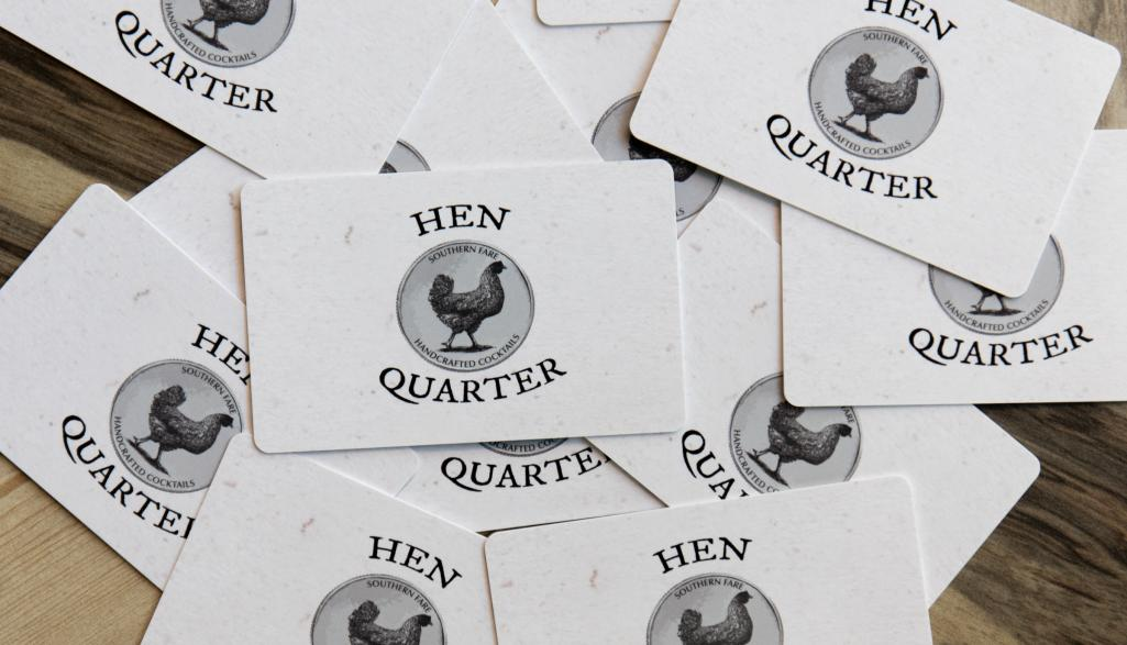 Hen Quarter Gift Cards