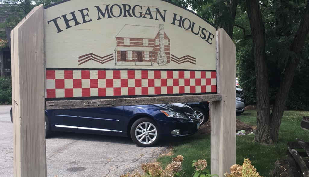 Morgan House Sign
