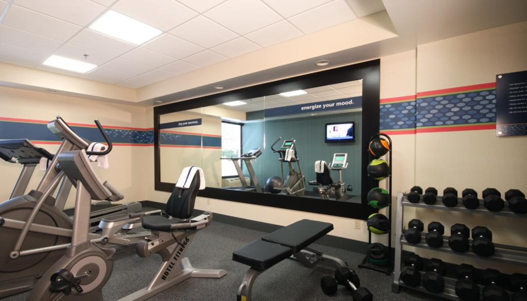 Hampton Inn Workout Room