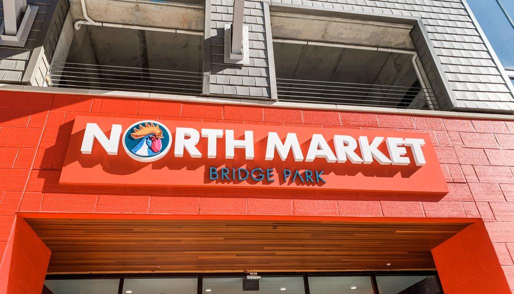 North Market Exterior Sign