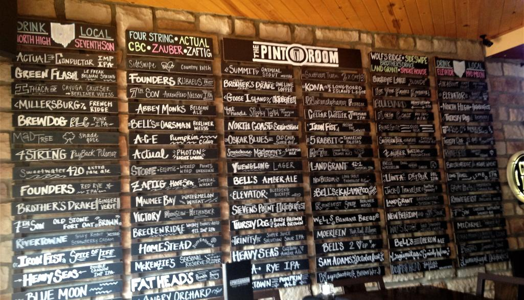 Pint Room Craft Beers
