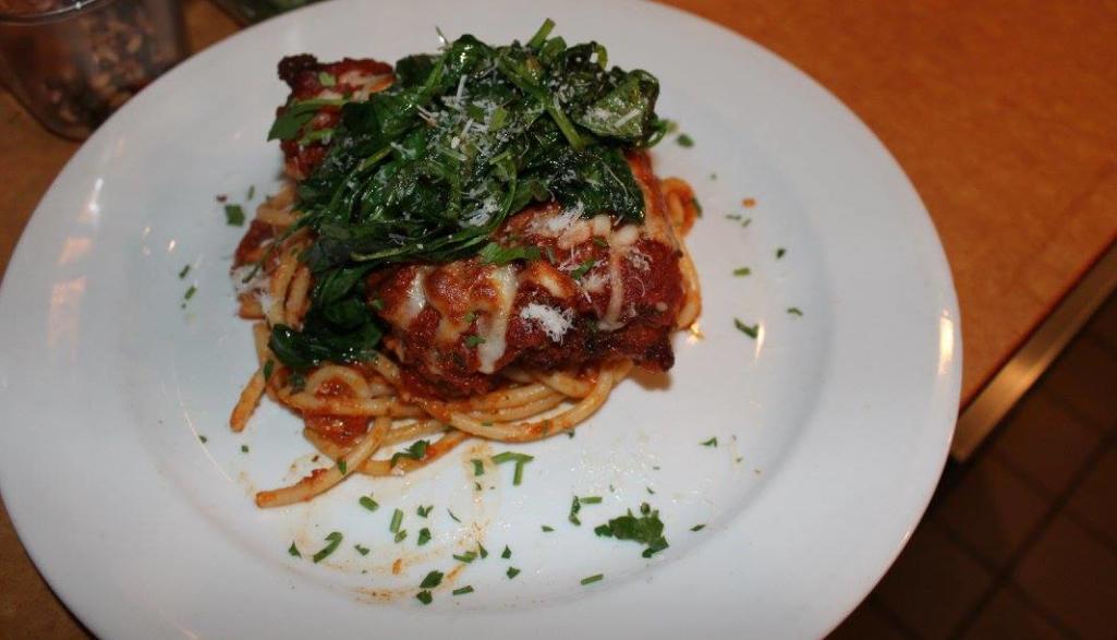 Z Cucina Chicken Parmesan
