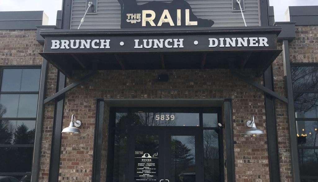 The Rail Burger Exterior