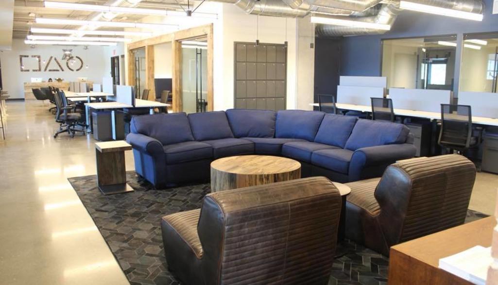Brick House Blue Lounge