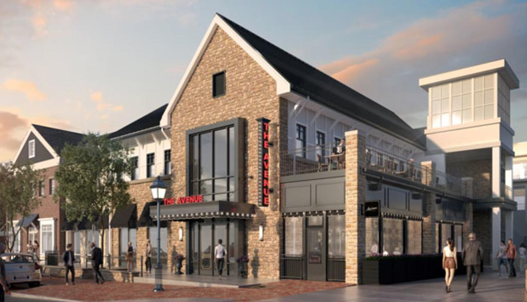 The Avenue Historic Dublin Exterior Rendering