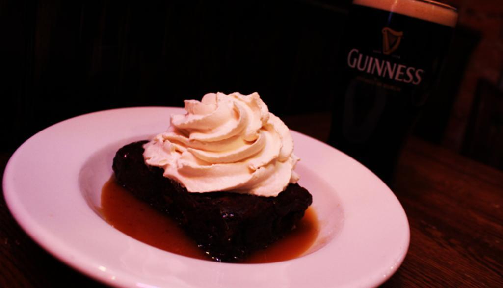 Irish Car Bomb Brownie
