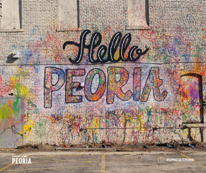 Discover Peoria art