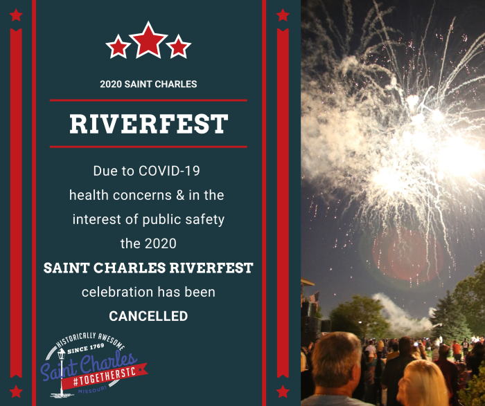 Riverfest Cancelled