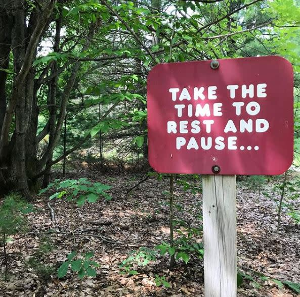 Sign on the Vasa Trail