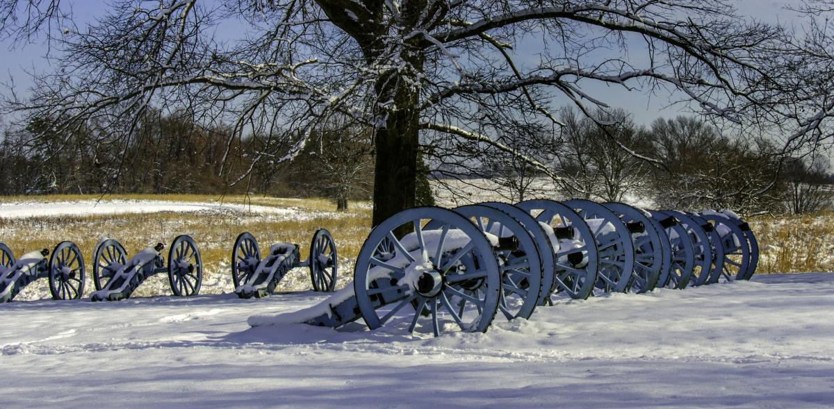 Artillery Park at Valley Forge