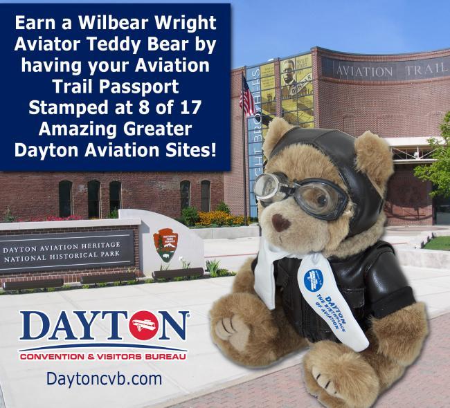 Wilbear Wright Aviation Trail Passport