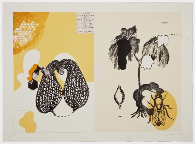 Lithograph by Maria Erikson