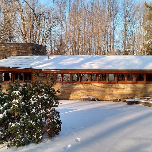Winter at Kentuck Knob