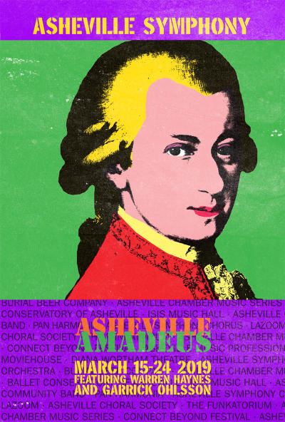 The Asheville Amadeus Festival celebrates music.