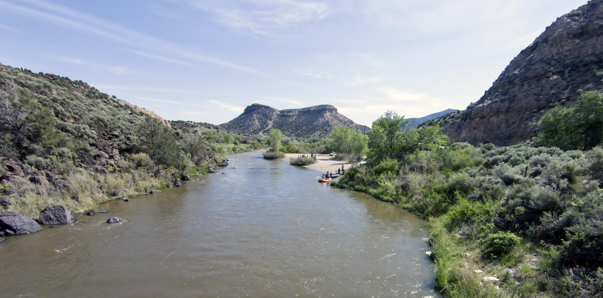 The Pecos, Canadian, Cimarron, and Mora Rivers Header