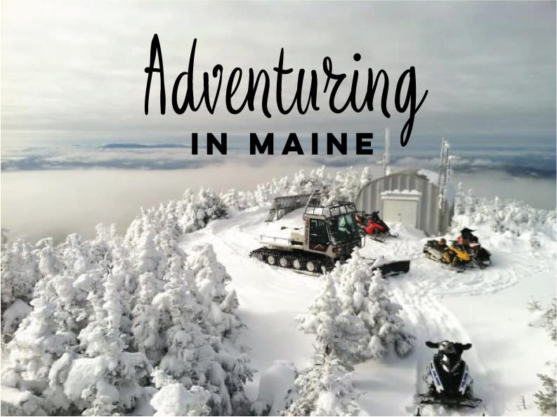 Adventuring in Maine Snowmobiling