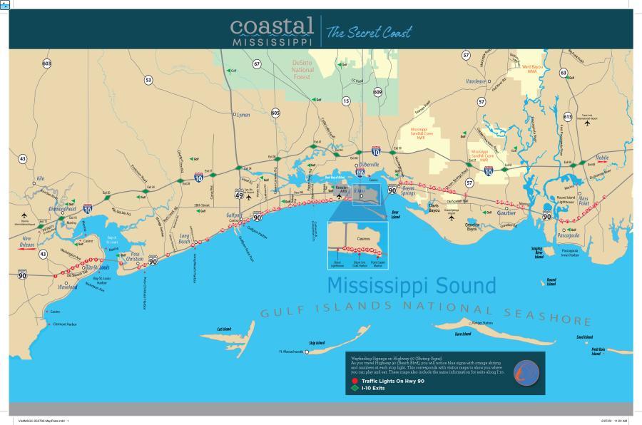 Shrimp Sign Map-Front