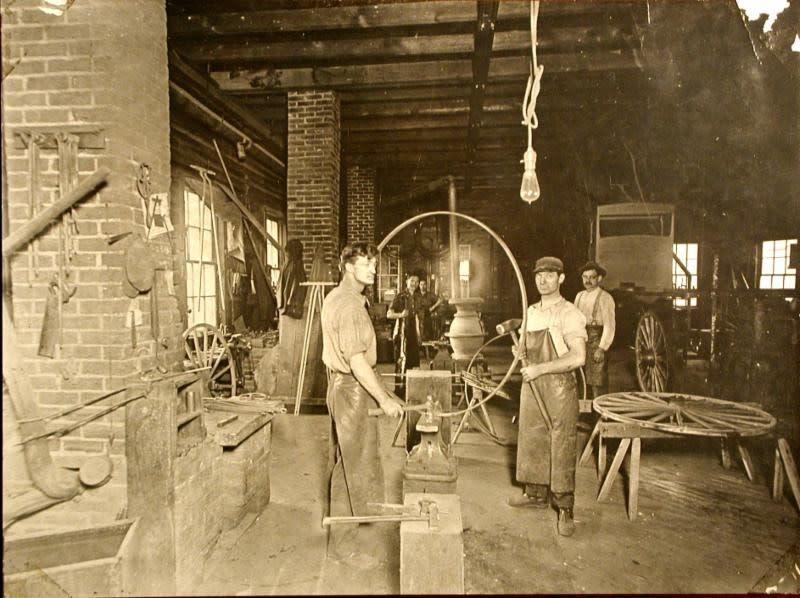 Blacksmithing in Boyertown