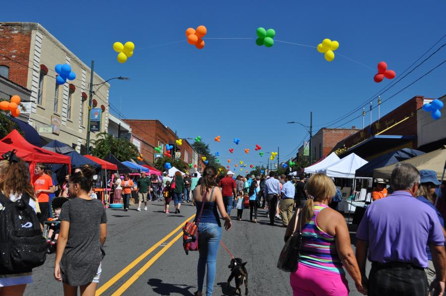 Mayfest in Rutherfordton