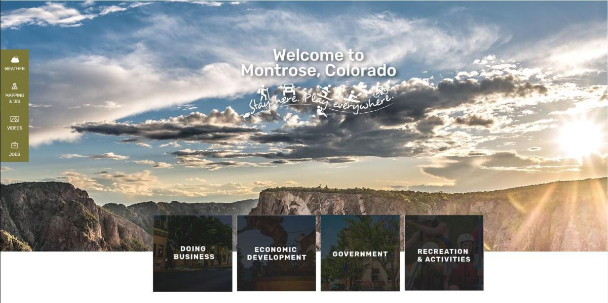 Montrose Community Web Portal