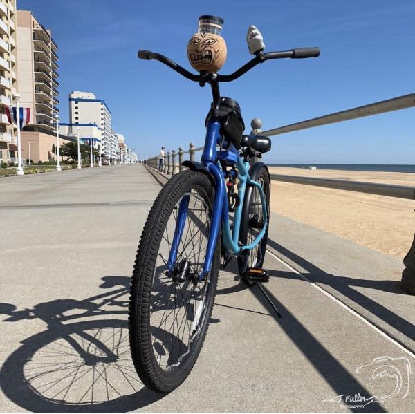 Bike Biking on Boardwalk