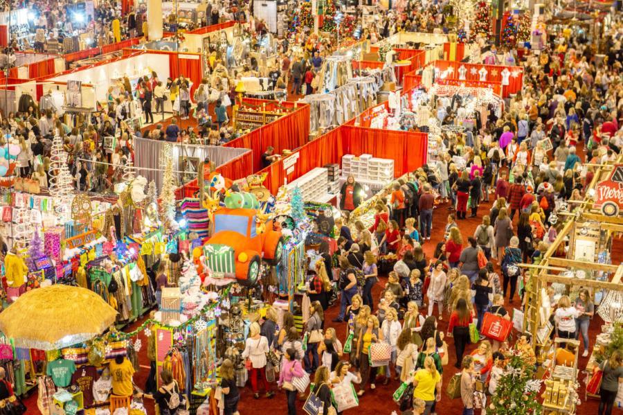 Mercado navideños en Houston