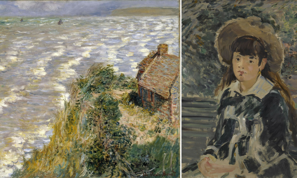 WAG Monet and Manet