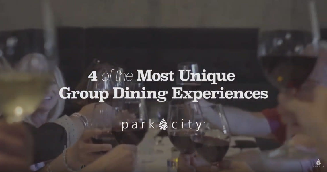 4 Unique Dining Experiences