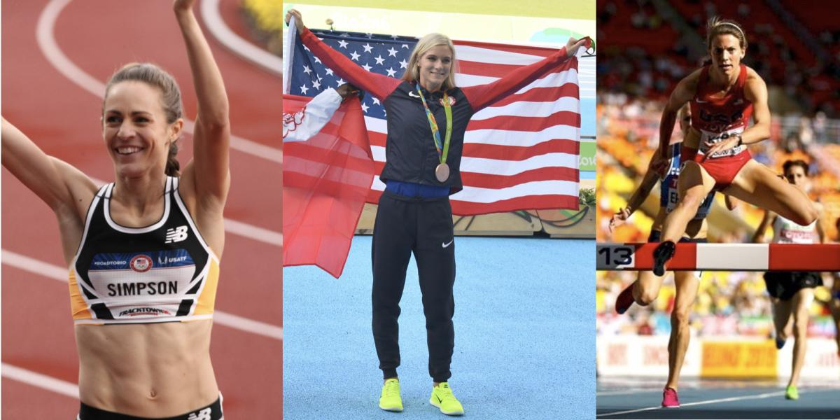 Simpson, Coburn, Kipp competing and winning metals at the Olympics