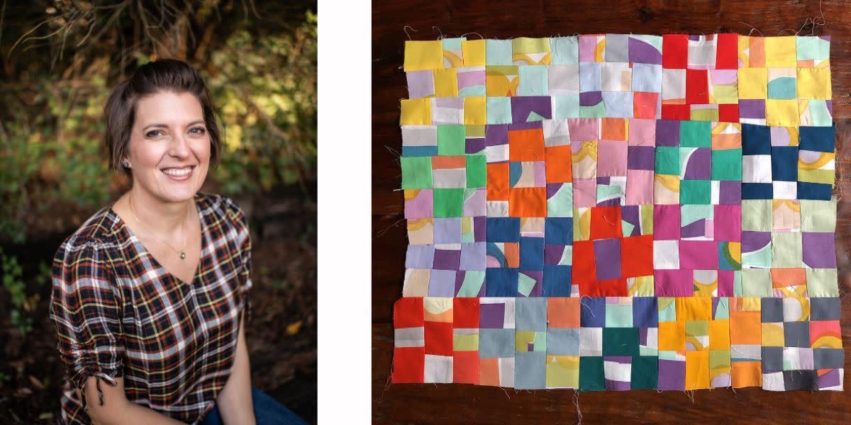 Melissa Everett of Melissa N. Everett Textiles