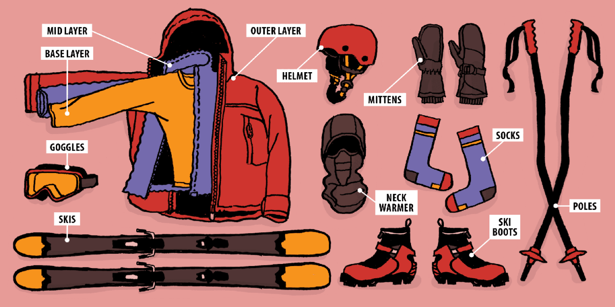 Downhill Ski Essentials