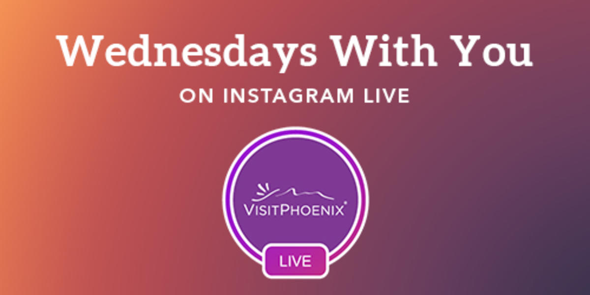 Wednesdays With You Instagram Live