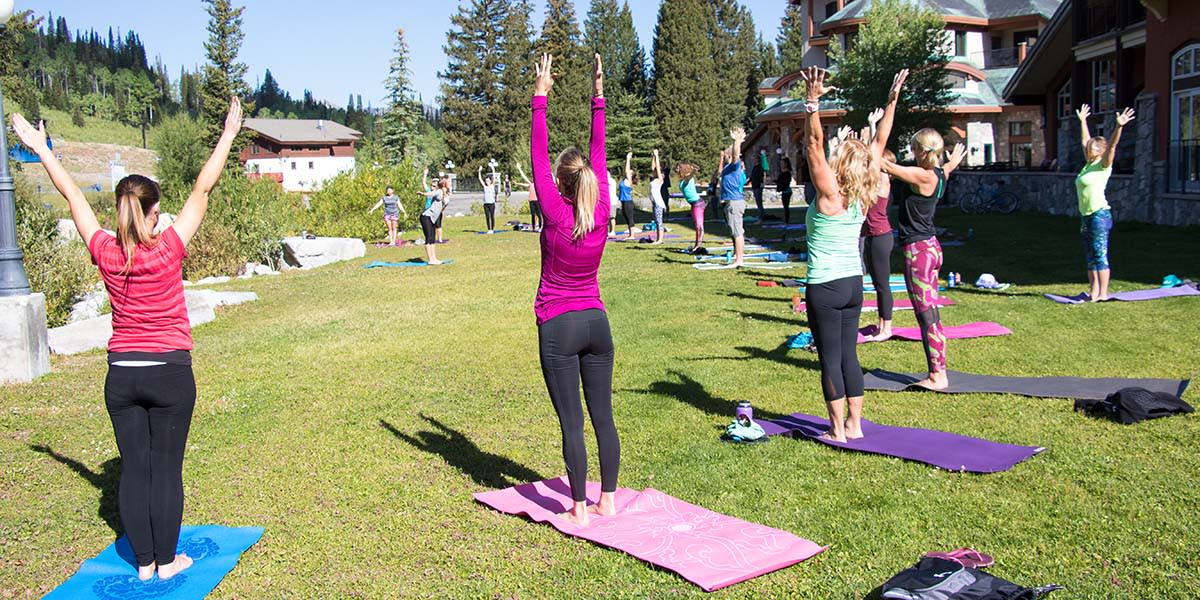 Yoga at Solitude Resort