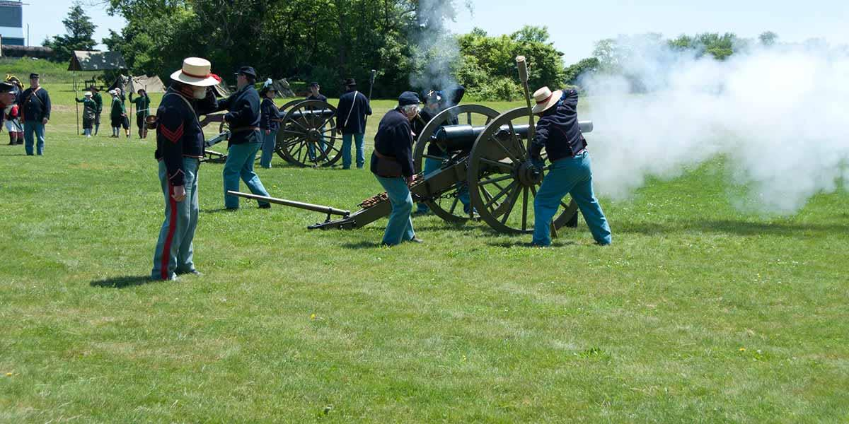 Army Heritage Days - civil war
