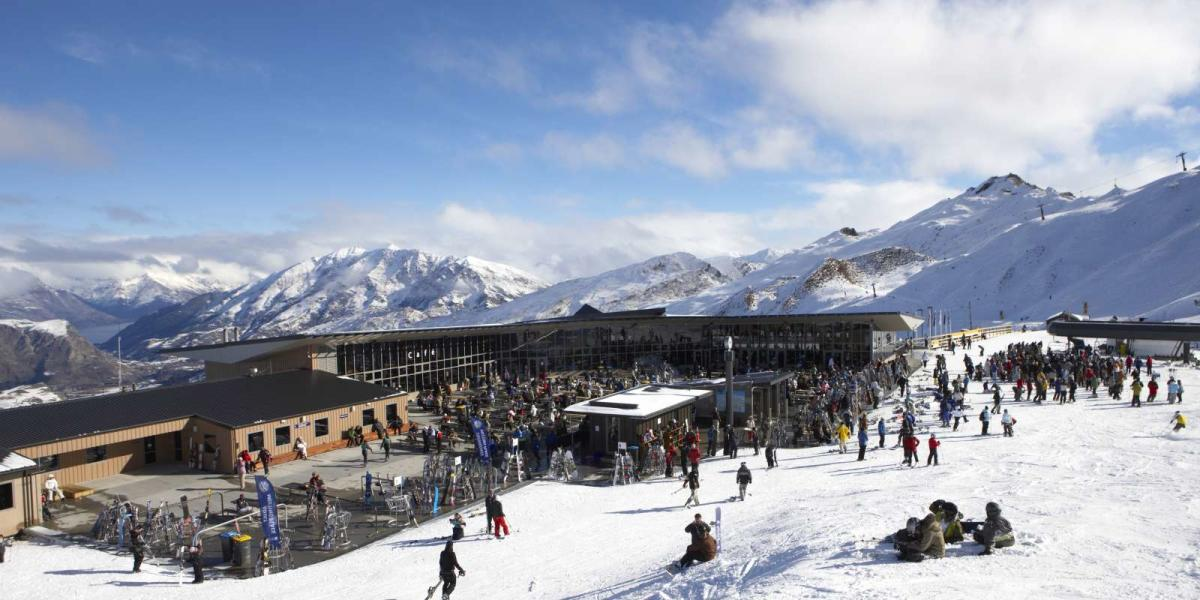 Coronet Peak Ski Field Base Building