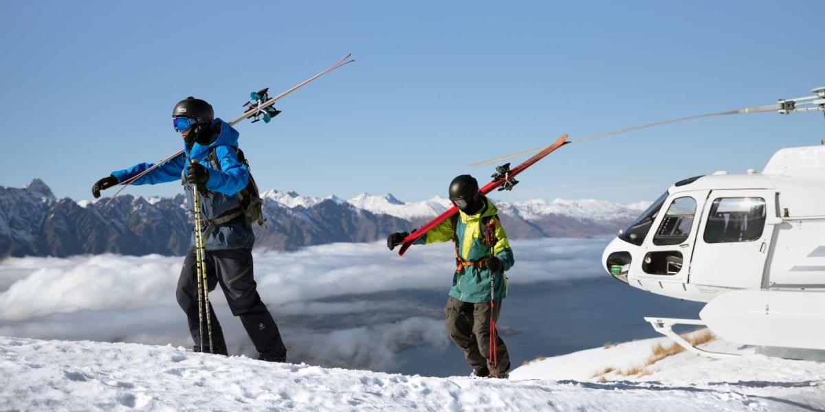 Heli-ski Queenstown Spring
