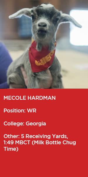 Mecole-Hardman-Goat