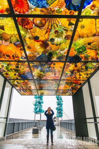 Bridge of Glass with photographer