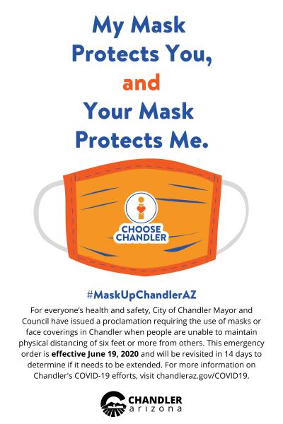 MaskUpChandlerAZ - My Mask Protects You