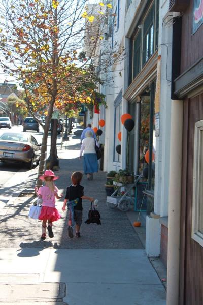 Trick-Or-Treating in Pacific Grove