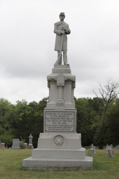 Civil War Vet statue