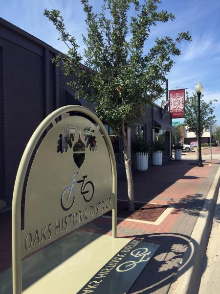 Bike Rack - Oak Historic District