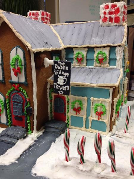 Holly Days Gingerbread House