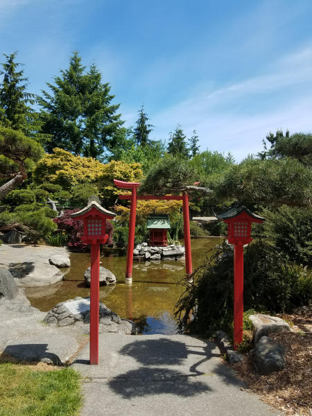 Point Defiance Park Japanese Garden