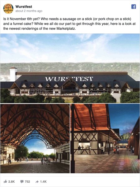 Wurstfest FB Post