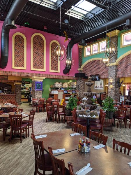 interior photo of cancun mexican restaurant and bar