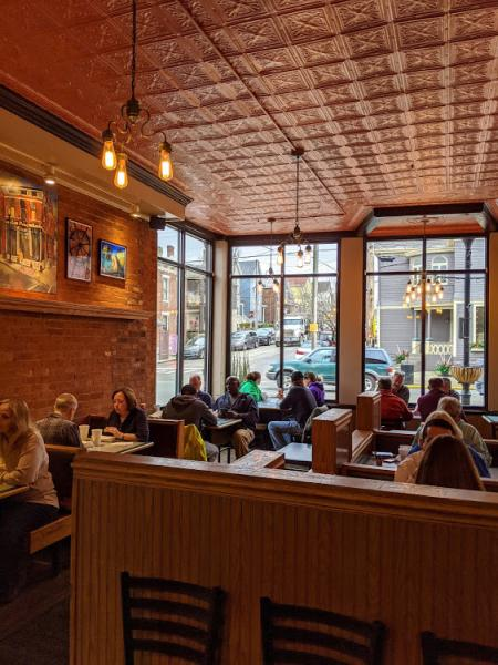 fessler's interior of restaurant
