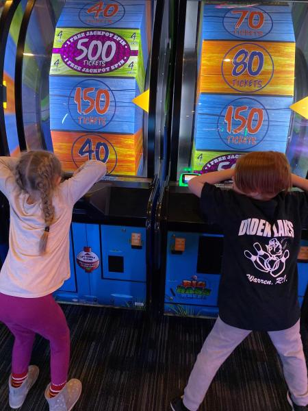 Arcade at Dave & Busters